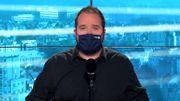 Cyril porte le masque par mesure de précaution, retrouvez ses explications