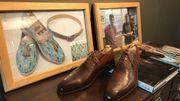 Les chaussures de Stromae sont sorties de l'atelier de Paul Dascotte. Mais l'artisan en produit aussi de plus classiques.