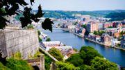 Promenade à travers Namur, capitale de la Wallonie, ville riche d'histoires et de traditions