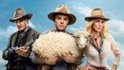 Amanda Seyfried, Charlize Theron et Seth MacFarlane dans Albert à l'Ouest