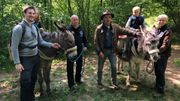 Printemps Grandeur Nature en escap'âne au Geopark Famenne-Ardenne