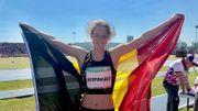 Maite Beernaert remporte l'or en longueur aux JOJ