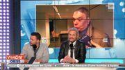 Bernard Tapie et Michel Sardou sur la scène du relooking !