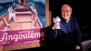 Emmanuel Guibert et son prix, en 2020