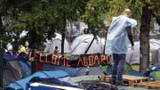 Demandes d'asile: une évacuation progressive et organisée du parc Maximilien se prépare