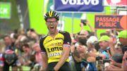 Lars Boom vainqueur de la 5e étape du Tour du Benelux et nouveau leader