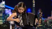 Cette petite fille étonne le jury d'une émission de TV avec sa reprise des Rolling Stones... à l'accordéon