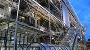 """Centre Pompidou à Paris : l'emblématique """"chenille"""" rénovée"""