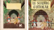 Le dessin préparatoire et la couverture de 1947