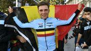 """Le """"petit cannibale"""" Remco Evenepoel sacré Champion du Monde du contre-la-montre chez les juniors"""