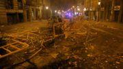 Catalogne: 182 blessés dans les violences vendredi soir, dont 152 à Barcelone
