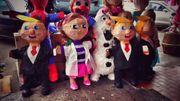 Sur les marchés on trouve désormais des piñatas à l'effigie de Donald Trump