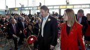 Inauguration du nouveau terminal, le 24 avril 2005
