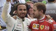 """Vettel : """"J'aurais aimé que la bagarre pour le titre dure un petit peu plus longtemps"""""""