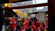 Mouscron, Bruxelles, Sclessin... les supporters se rassemblent pour soutenir les Diables