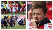 Euro 2020: le monde du football est sous le choc après un malaise inquiétant d'un joueur danois, Christian Eriksen