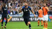 Giroud offre la victoire à la France face aux Pays-Bas, l'Allemagne gagne contre le Pérou en amical