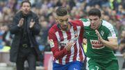 L'Atlético et Carrasco rejoignent provisoirement le Barça en tête