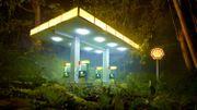 """""""Après The Deluge, David LaChapelle a entamé un travail plus conceptuel, dont la figure humaine a étrangement disparu"""", dit le commissaire de l'exposition"""