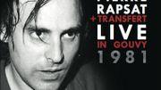 Un Live inédit pour Pierre Rapsat