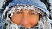 La photographe Pascale Sury saisie par le froid en Laponie