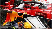 """Le """"halo"""" testé par Ferrari l'année dernière et """"l'aéroscreen"""" expérimenté par Red Bull en 2016 également"""