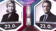 L'annonce du résultat sur à 20h TF1