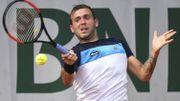 Le tennisman britannique Daniel Evans contrôlé positif à la cocaïne