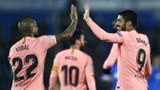 Le Barça émerge face à Getafe et prend le large