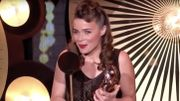 Blanche Gardin essaie de «pécho» Bradley Cooper dans un nouveau discours évidemment grinçant
