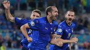 Euro 2020: Chiellini, l'hymne à la joie du vétéran italien