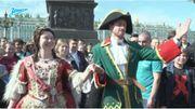 """Nicolas """"Pierre Le Grand"""" Lombaerts dit au revoir à Saint Petersbourg"""