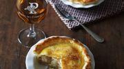 Recette : Mini-tourte pomme poire au Pineau des Charentes