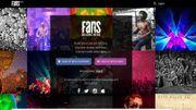 """""""Fans"""", un nouveau réseau social pour les dingues de musique"""