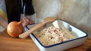 risotto à la milanaise grillé
