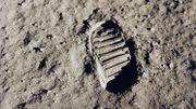 Les premiers pas de l'homme sur la Lune à redécouvrir sur YouTube