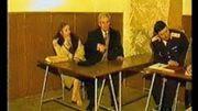 Elena et Nicolae Ceausescu face à leurs juges