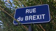 Beaucaire et sa rue du Brexit