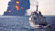 Le pétrolier iranien en feu a coulé, plus d'espoir de retrouver des survivants (vidéo)