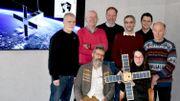 """L'équipe du projet """"Picasso"""" (Institut d'Aéronomie spatiale de Belgique)"""