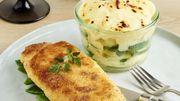 Recette : Cordon bleu revisité et gratin de pommes de terre au chaource