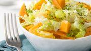 Recette : salade vitaminée au fromage