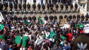 Manifestation à Oran contre la candidature d'Abdelaziz Bouteflika à un 5ème mandat de président