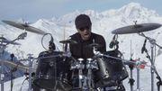 [Zapping 21] Manu Katché joue un solo de batterie au Mont Blanc