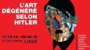 """L'art """"dégénéré"""" des nazis exposé à la Cité Miroir à Liège"""