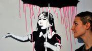 Enchères : plus de 600.000 euros pour une oeuvre monumentale de Banksy