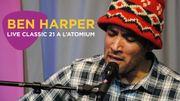 Le showcase de Ben Harper à l'Atomium