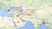 Trois attaques terroristes perpétrés par l'EI en moins d'une semaine.