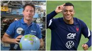 Euro 2020: discussion improbable entre Thomas Pesquet, astronaute dans l'ISS et Kylian Mbappé