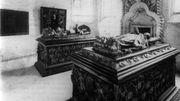 Un caveau funéraire datant probablement du 14esiècle découvert à Bruges